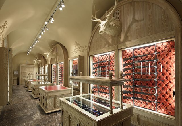 Kolchugas Weapons Salon in Moscow by Archpoint - for the refined weapons collector.