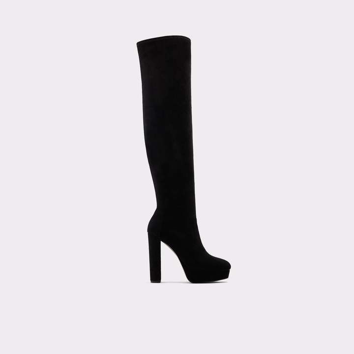 Aldo Shoes | Aldo Over The Knee Black Boots | Color: Black