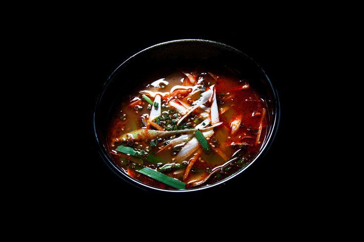 辛口スープ ¥780
