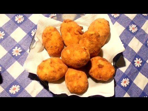 Bolitas de Patata Rellenas de Atun al Horno - YouTube