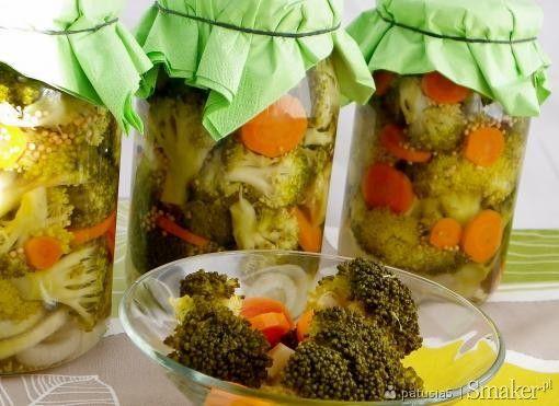 Brokuły w słodko - kwaśnej