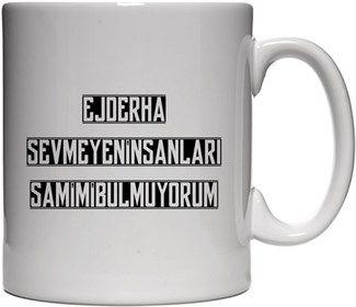 Umutcan Hacıfazlıoğlu - Ejderha Sevmeyen İnsanlar - Kendin Tasarla - Beyaz Kupa