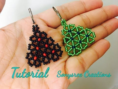 Umbel Flower Earrings (Tutorial) – YouTube