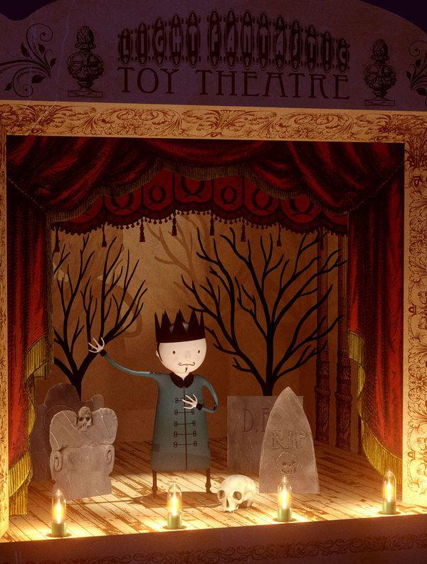 Light Fantastic Toy Theatre by Richard Yot, via Behance