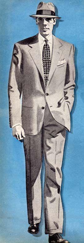 what happen to men wearing suits