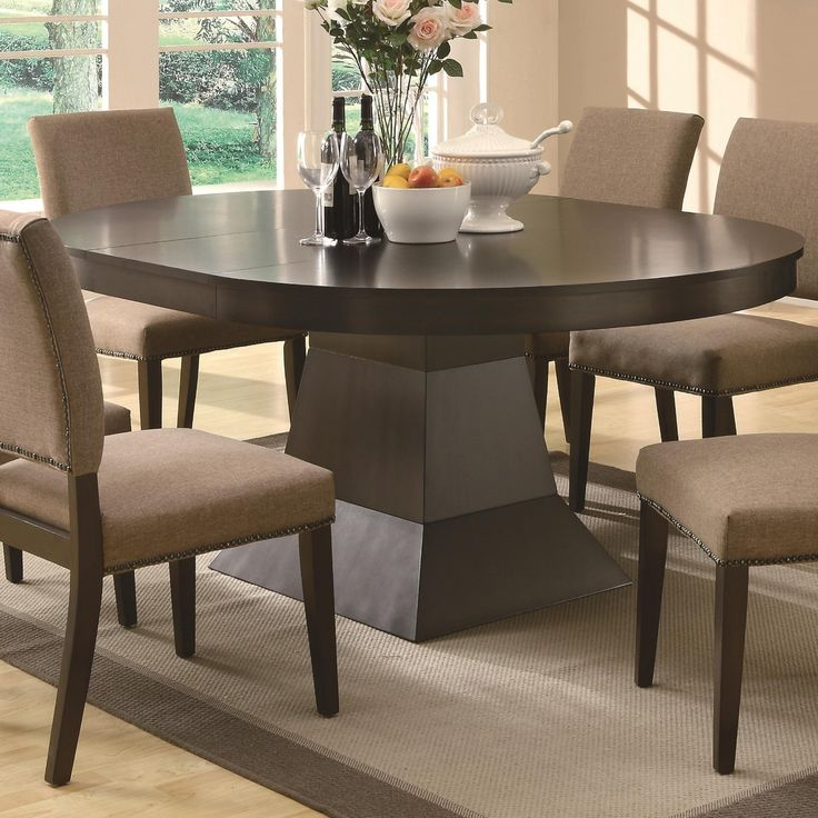 1000 ideas about Oval Dining Tables on Pinterest Chairs  : 59ef685ccf11475c5ed05144b9e017c7 from www.pinterest.com size 736 x 736 jpeg 86kB
