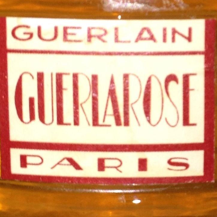 Rare Vintage Guerlain Guerlarose perfume 1932 250ml XXL  Sealed Baccarat