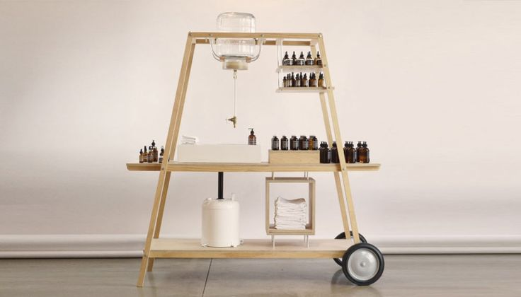 A Mobile Laboratory for a Skincare Brand's Store