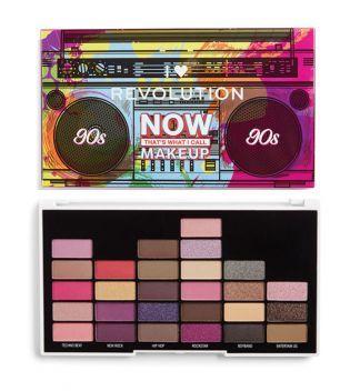 I Heart Revolution – Paleta de Sombras JETZT Das nenne ich Make-up – 90er Jahre   – Make Up