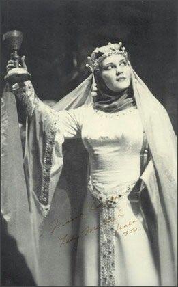 Maria Callas as Lady Macbeth in Verdi's opera