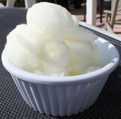 Traditional Italian Lemon Ice FORGET STORE BOUGHT THIS IS FABULOUS!...... I HAVE to make this!!