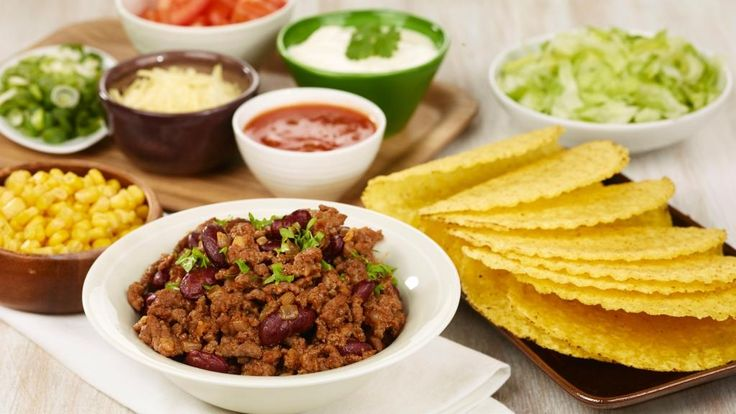 Oppskrift på Taco