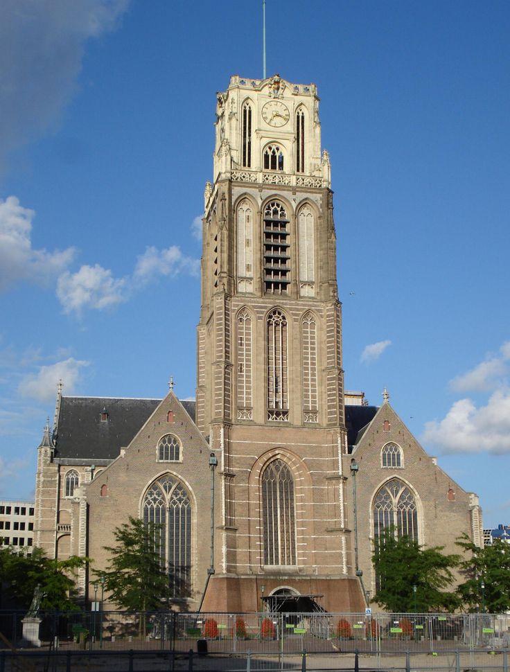Grote- of St. Laurenskerk in Rotterdam   Monument - Rijksmonumenten.nl