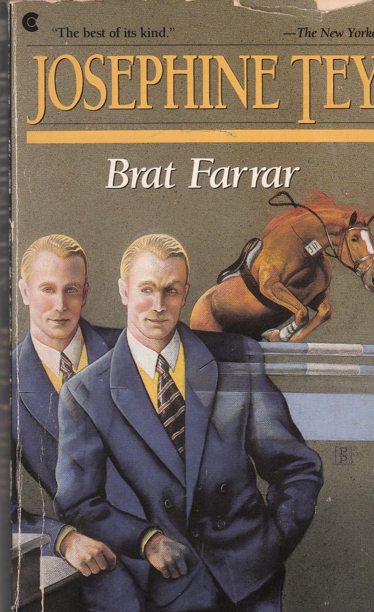 Wordsmithonia: Brat Farrar by Josephine Tey. A brilliant book.