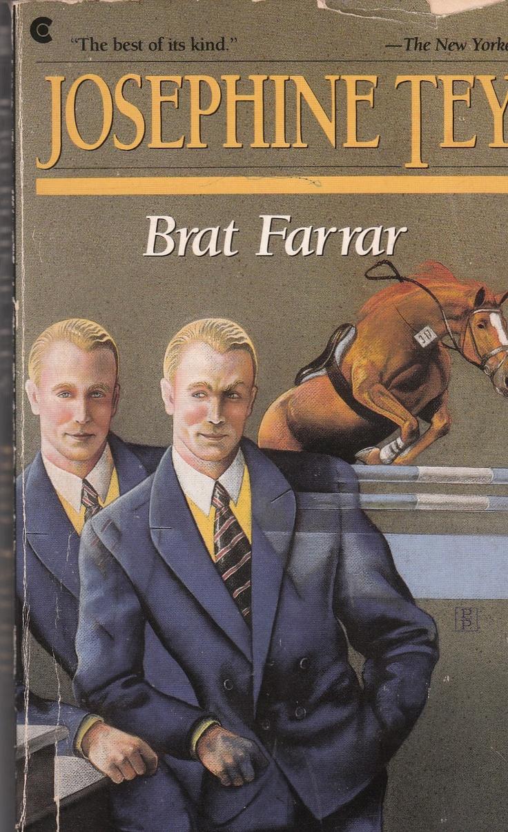 Wordsmithonia: Brat Farrar by Josephine Tey. A brilliant book.