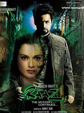 Raaz: The Mystery Continues Hindi Movie Online - Kangana Ranaut, Emraan Hashmi, Jackie Shroff, Dinesh Lamba, Sandeep Sikand, Vicky Ahuja and Adhyayan Suman. Directed by Mohit Suri. Music by Raju Singh. 2009 [A] ENGLISH SUBTITLE