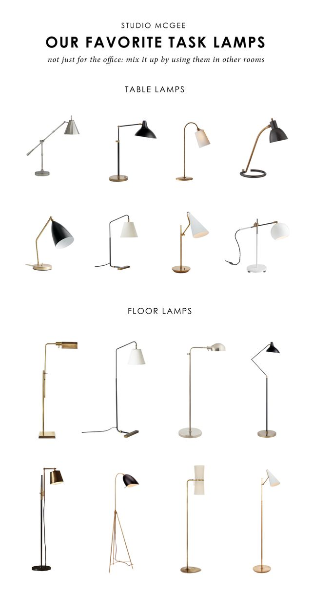 Ask Studio McGee: Our Favorite Task Lamps
