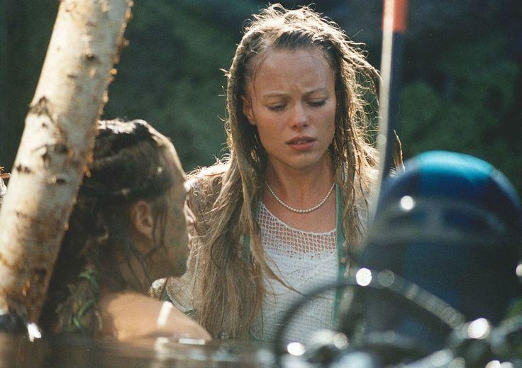 Linda Rybova during shooting underwated scenes in Wild Flowers. #WildFlowers #Erben #Waterman #Kytice #Vodnik #LindaRybova