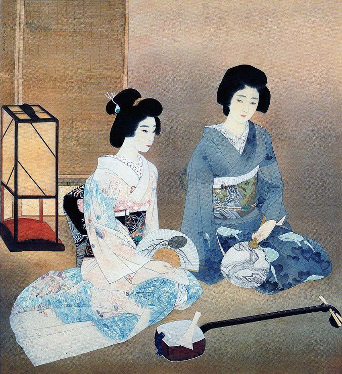 Kobayakawa Kiyoshi (1899-1948) 小早川清 Chouu, Diva of Shouwa 聴雨・昭和の歌姫、1934