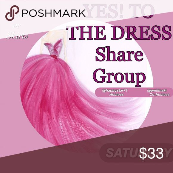 CLOSED⏰JANUARY 21 SHARE GROUP SIGN UP 💐💐Welcome to the group, You may do your requests upon signing and please make sure to share 🔟 Dresses or Skirts to everyone signed here. No less than 10 please. If you're running late, just let us know when you can finish your shares. PLEASE, Sign OUT it is very important.   Let's all have a wonderful day and I wish you many sales💝⭐️💗😉💰 SHARE GROUP Accessories