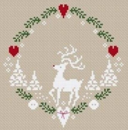 Reindeer circle