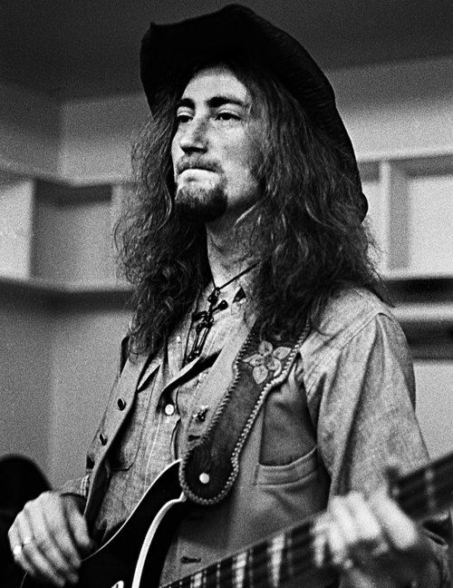 Roger Glover's heavy-handed Rickenbacker eked out a distinctive sound for Deep Purple.