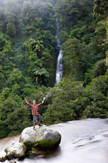 Rob above Mokau Falls