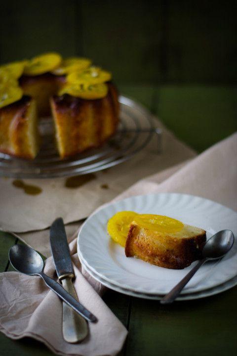 Lemon Yogurt Cake With Candied Lemon