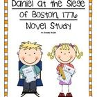 Daniel at the Siege of Boston, 1776, is a book authored by Laurie  Calkhoven.  I used this book with my 4th grade class to go along with our social...