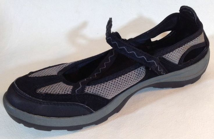 LANDS' END WOMENS MARY JANE WATER SHOES size 9 1/2 #LandsEnd #WaterShoes