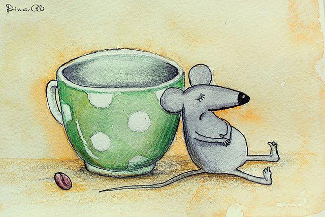 когда заканчивается кофе... :)