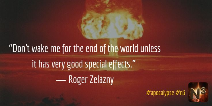 """""""Don't wake me for the end of the world unless it has very good special effects.""""  ― Roger Zelazny #gamedev #indiedev #nonagonthree #n3"""