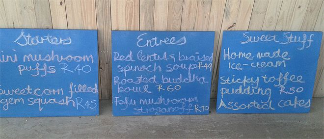 Conscious 108 - A vegan eatery in Greenside.