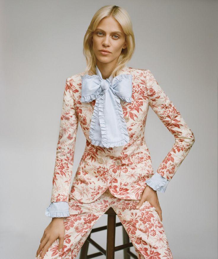 los setenta son ahora: aymeline valade by thomas whiteside for harper's bazaar spain november 2015   visual optimism; fashion editorials, shows, campaigns & more!