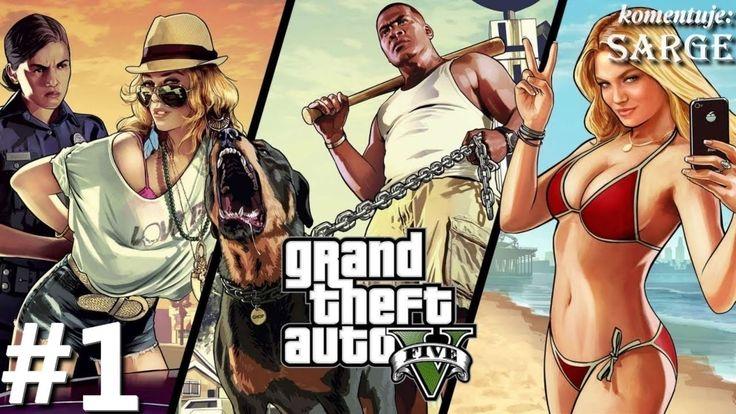 Zagrajmy W Grand Theft Auto 5 - Odcinek #1 - Witamy W Los Santos