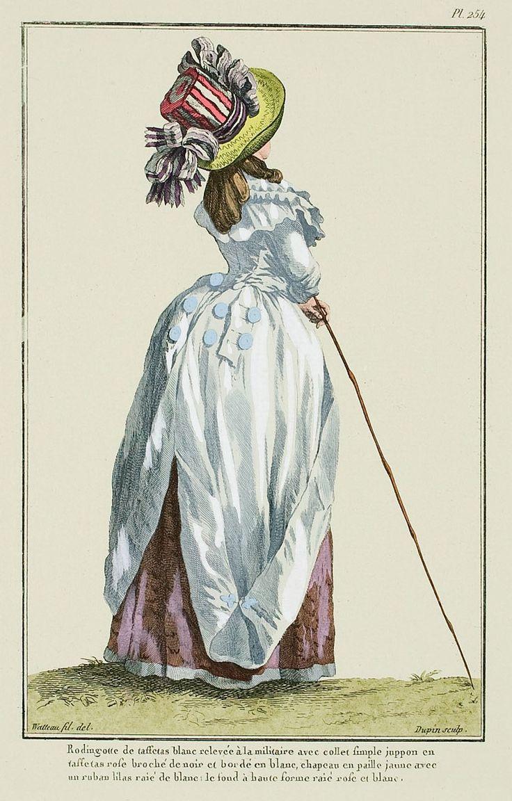 1787   A Most Beguiling Accomplishment: Galerie des Modes, 54e Cahier, 1ere…
