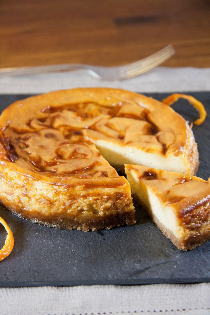 Orange Caramel Cheesecake