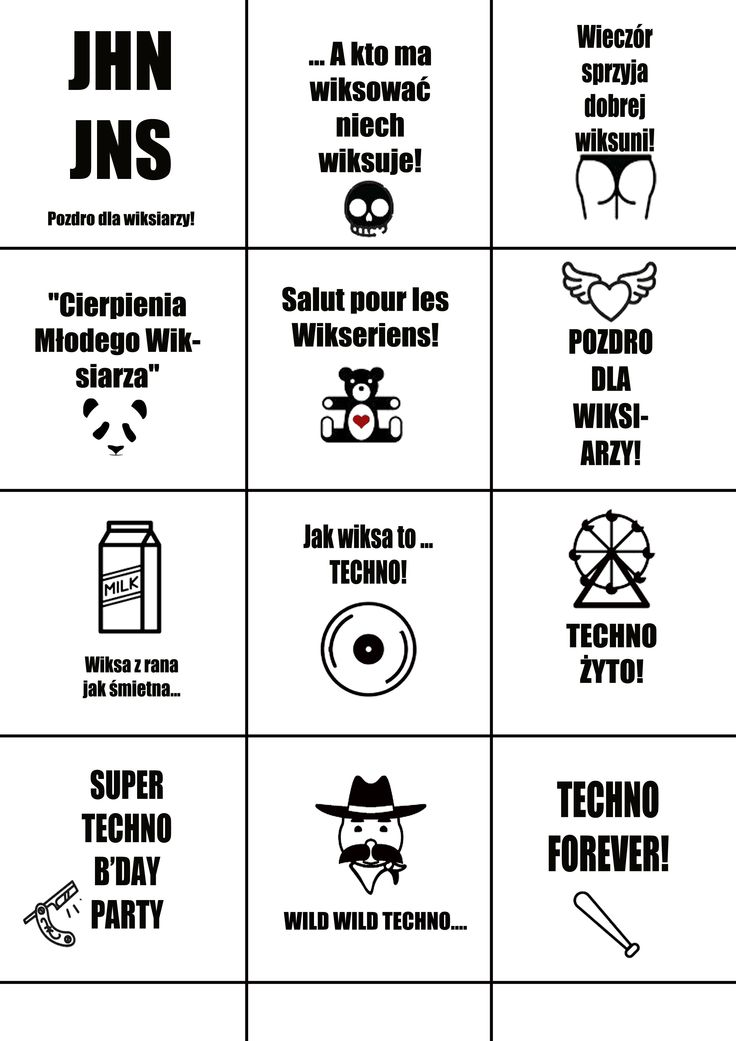 party stickers #techno