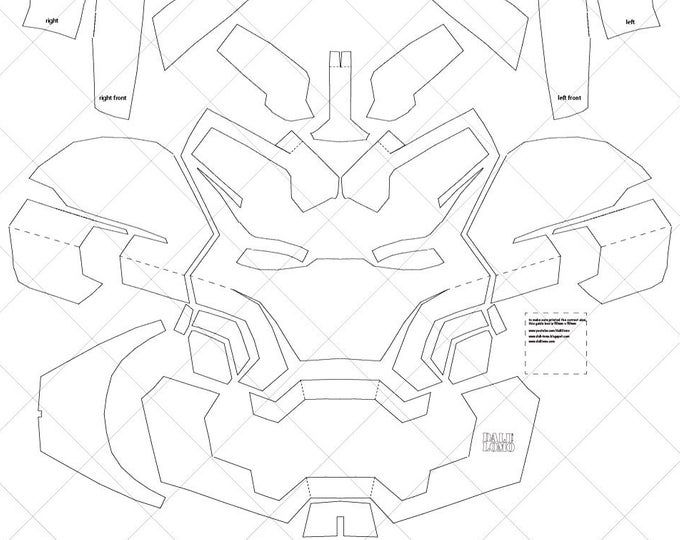 Iron Man Mark 4 A4 Letter Size Pdf Template Ready To Etsy In 2021 Iron Man Helmet Iron Man Fan Art Iron Man