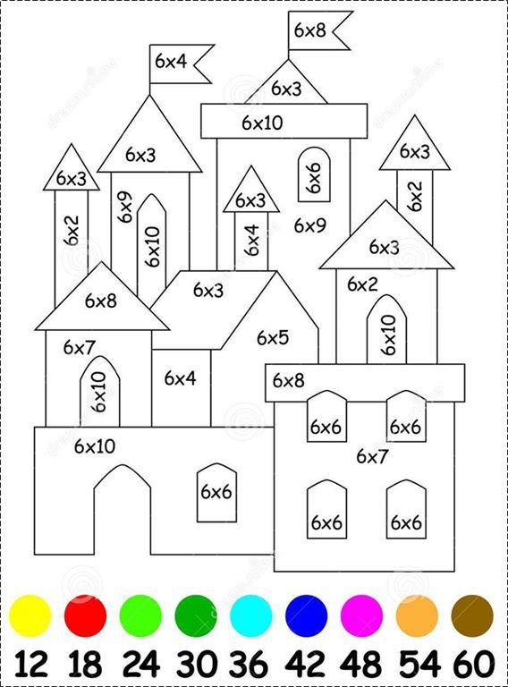 een kleurrijke manier om tafels te leren! OB