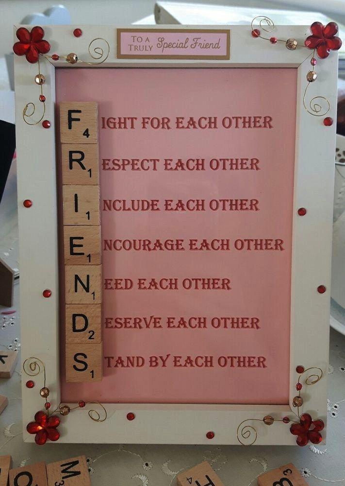 Personalisierte Geschenkideen Handgemachtes Wunderschnes Pinterest Gesche In 2020 Handmade Gifts For Friends Birthday Gifts For Best Friend Diy Gifts For Friends