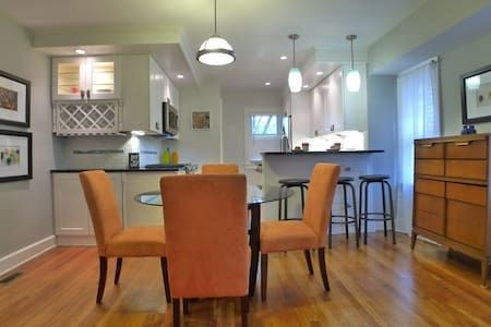 Check out this awesome listing on Airbnb: Cleveland Hts home - Princeton Rd-  nr downtown - Houses for Rent in Cleveland Heights - Get $25 credit with Airbnb if you sign up with this link http://www.airbnb.com/c/groberts22