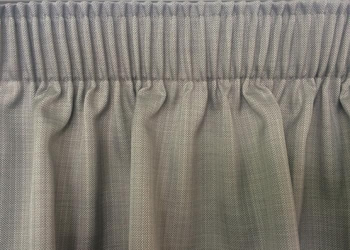 Pencil pleated curtain headings are regularly utilised to create a relaxed, classic drape.