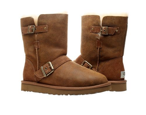 UGG Australia Classic Short Dylyn Bomber Chestnut Womens Winter Boots  1001202