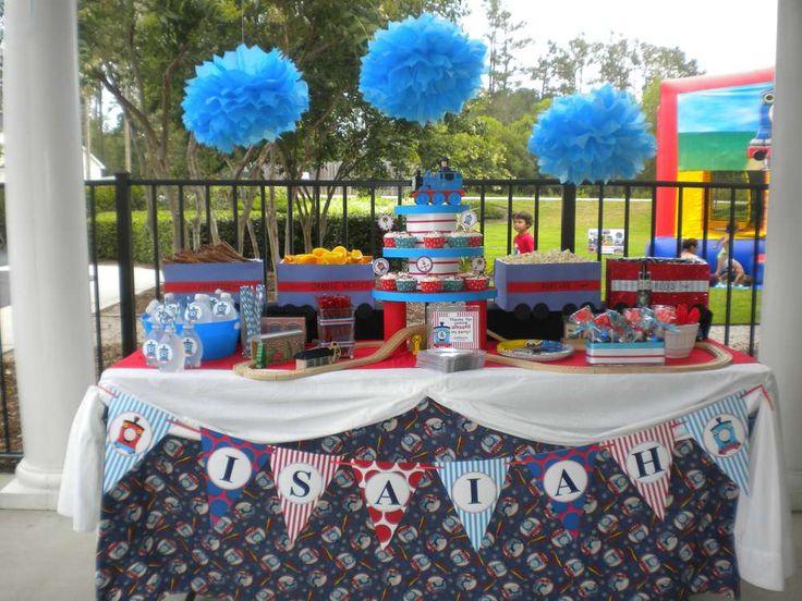 Isaiah's Choo Choo Train Party | CatchMyParty.com