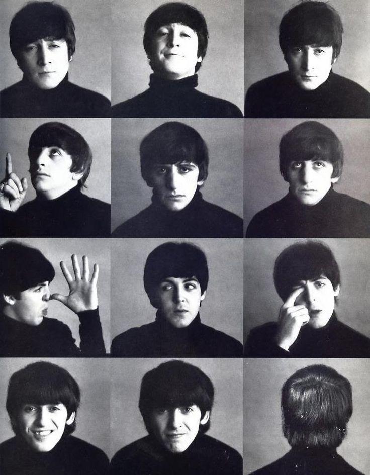 The Beatles Hard Day's Night pics