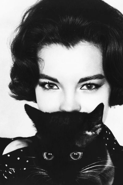 "msmildred:  Romy Schneider photographed for ""What's New Pussycat?"", 1965."
