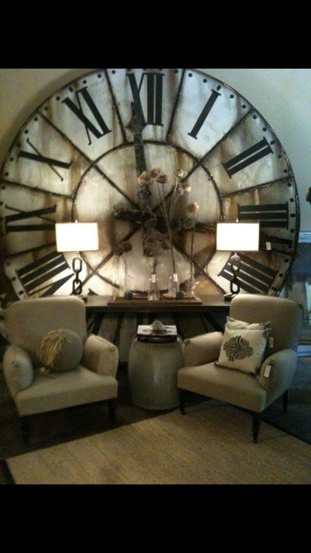 Big clocks are my thang!!!
