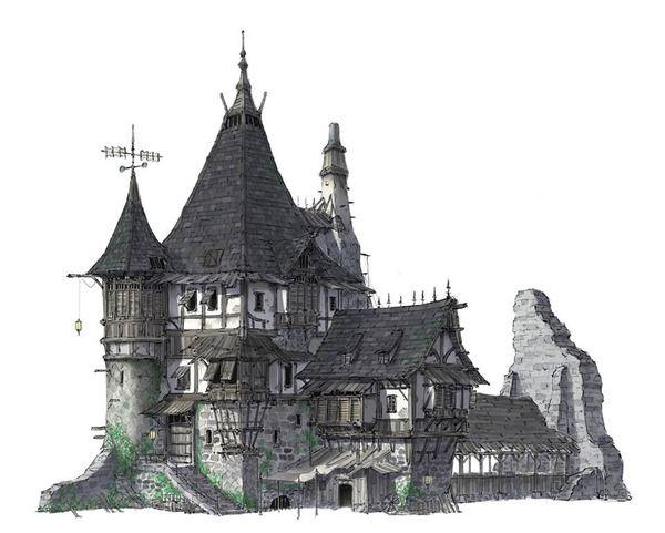 Medieval house by HeNN