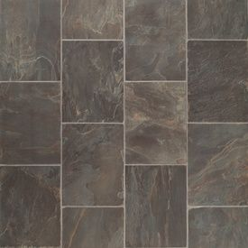 The flooring we chose for our bathrooms and laundry room.